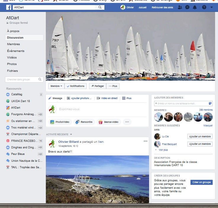 groupe facebook afidart